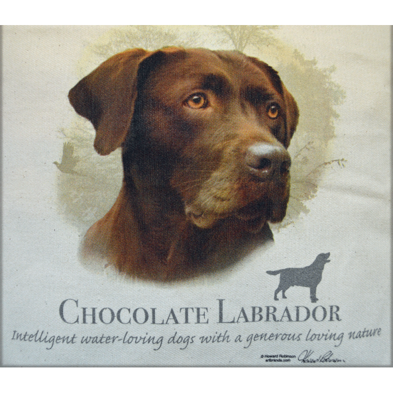 "Lady Remington Pillow 17""   Style 169 Chocolate  Lab"
