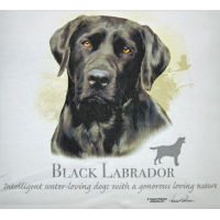 Lady Remington T-shirt Style 116 Black Lab