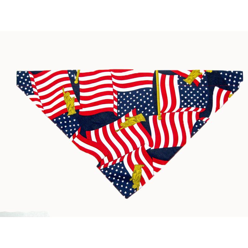 Lady Remington Pet Bandanas- Style 125 American Flag