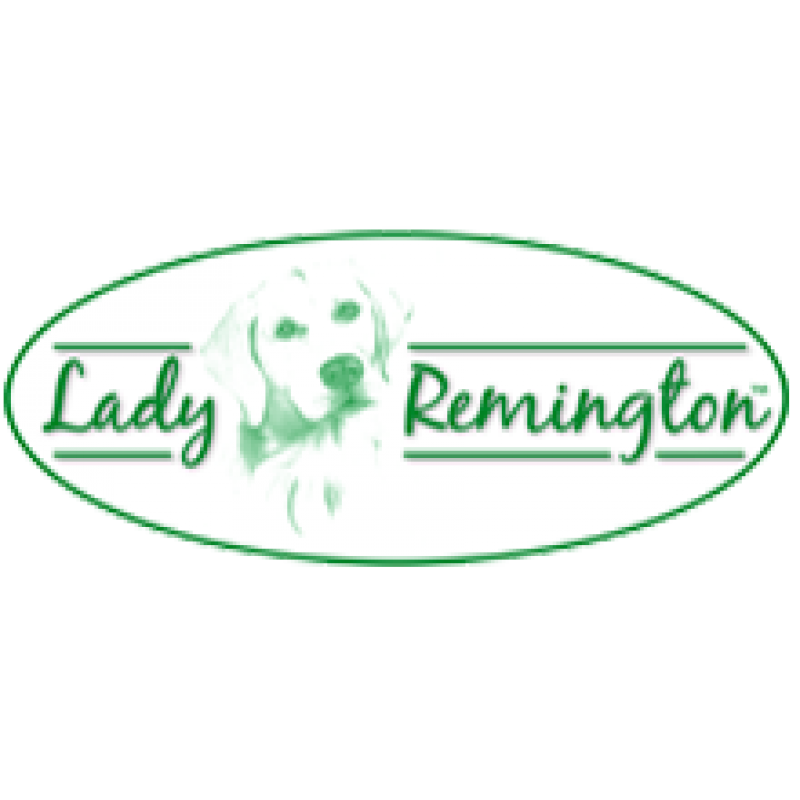 "Lady Remington Pillow 17""   Style 170 Black Lab"